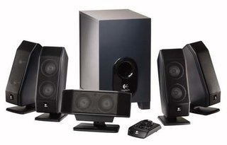 Logitech aims X-540 surround sound speakers at gamers