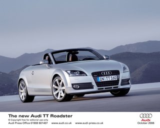 Audi unveils the latest TT Roadster