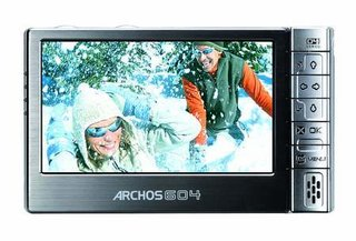 Archos equip the 604 portable media player with Wi-Fi