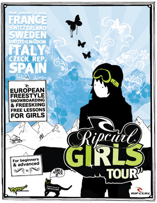 Rip Curl Girls Tour winter 2006/7