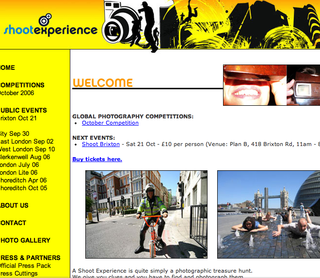 WEBSITE OF THE DAY - shootexperience.com