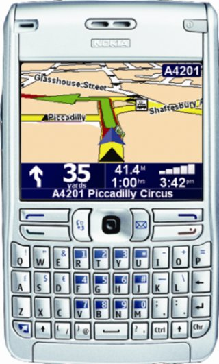 3 launch TomTom enabled Nokia E61
