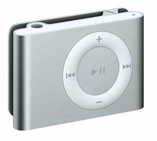 iPod Shuffle available this Friday