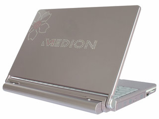 Medion bedazzles notebook with Swarovski crystals