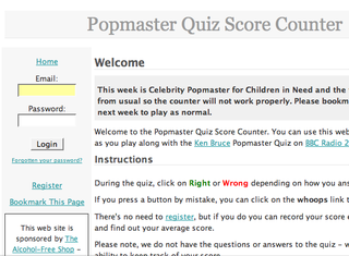 WEBSITE OF THE DAY - popmaster.co.uk