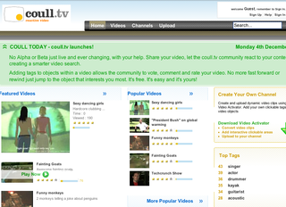 Coull.tv launches online video site with interactive search features