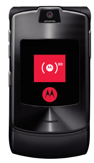 Motorola adds MOTORAZR V3i to RED project