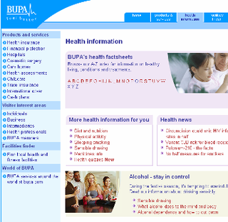 WEBSITE OF THE DAY – bupa.co.uk/health_information