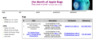 Month of Apple Bugs kicks off with QuickTime flaw