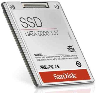 SanDisk releases 32GB flash-based SSD drive for laptops
