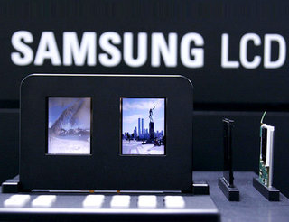 Samsung unveils world's first double-sided LCD screen
