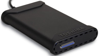Toshiba launches small portable hard drive range