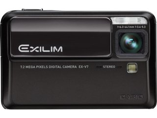 CES 2007: Casio launches World's Slimmest 7x zoom camera