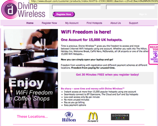 Divine Wireless unifies Wi-Fi providers for easy usage