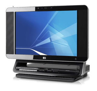 CES 2007: HP launches the HP TouchsmartPC