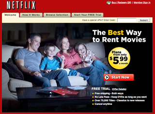 Netflix launches instant online movie streaming service