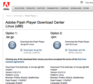 Adobe Delivers Flash Player 9 for Linux