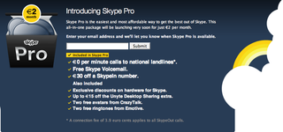 Skype introduces small connection charge for SkypeOut