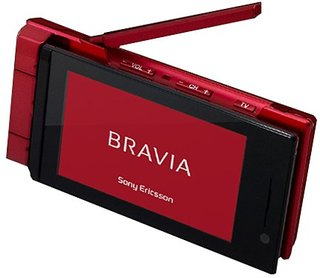Sony Ericsson announce Bravia range of mobile phones