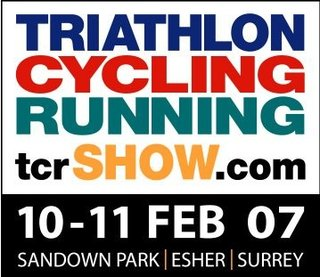 Kids Tri at the Triathlon, Cycling and Running Show at Sandown Park