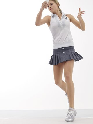 Maria Kirilenko presents adidas by Stella McCartney ss07 Tennis Collection
