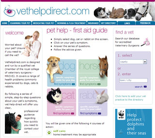 WEBSITE OF THE DAY – vethelpdirect.com