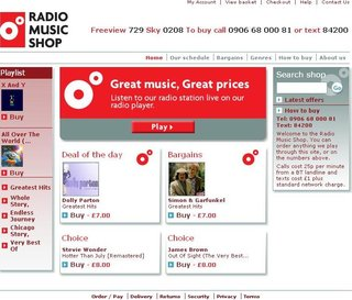 WEBSITE OF THE DAY - radiomusicshop.com