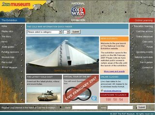 WEBSITE OF THE DAY - nationalcoldwarexhibition.org.uk