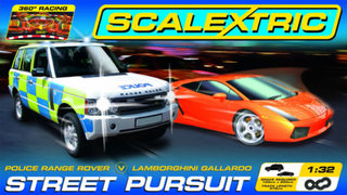 Scalextric launch Street Pursuit Drift Set