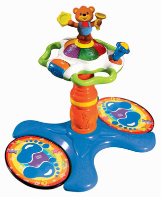 VTech's Sit-to-Stand Dancing Tower gets your kids up and moving