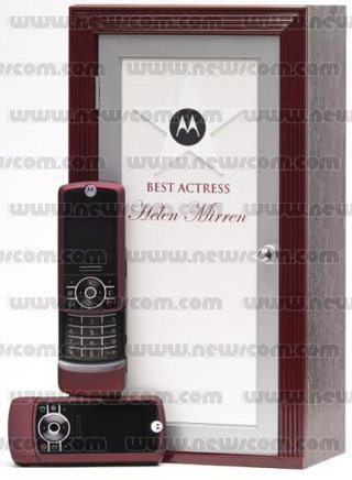 Motorola to dish out custom MOTORIZR Z3 to Oscar hopefuls