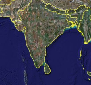 Google Earth blurs parts of India