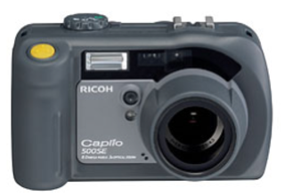 Rugged Ricoh 500SE has built-in GPS receiver