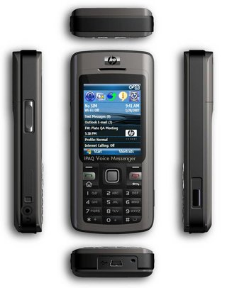 iPAQ 514 Voice Messenger joins HP's lineup