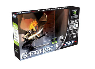 PNY launches GeForce 8800 GTS PCI Express card