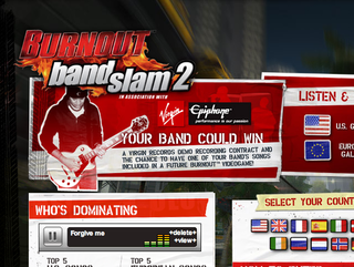 EA turn to Myspace with Burnout Bandslam 2 for game soundtrack