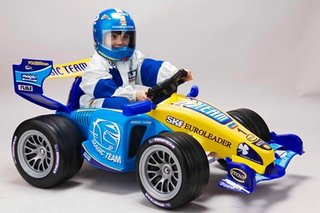 Fancy your kid as a Formula One racing driver?