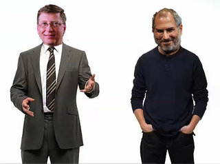 """Bill Gates to square up to Steve Jobs at """"D: All Things Digital"""" conference"""