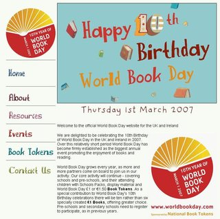 WEBSITE OF THE DAY - worldbookday.com
