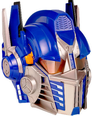 Optimus Prime Voice Changer Helmet turns you into an Autobot