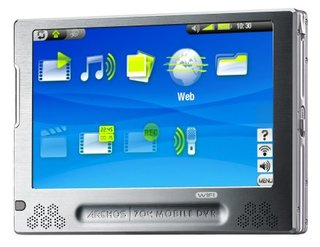 Details on Archos 704-WiFi portable media player emerge
