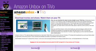 Amazon Unbox in TiVo goes live
