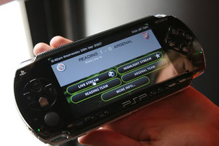 Sony to stream replays via PSP to Arsenal stadium fans