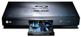 LG bringing Super Multi Blue HD DVD Blu-ray player to UK