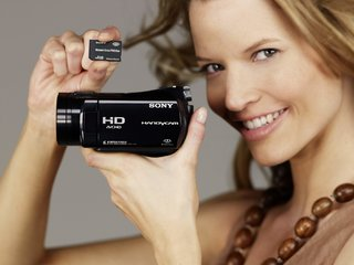 Sony launch HD ready Sony Handycam CX6EK and 3 new HDD models