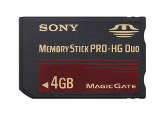 Sony launches Memory Stick PRO-HG memory cards