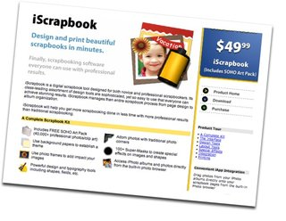 Digital scrapbook finally comes to life