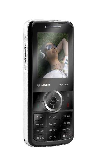 SAGEM launches my411x handset