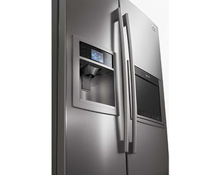 LG take fridge high-def
