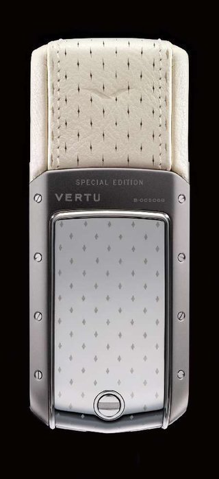 Vertu launches Strawberries and Cream lady phones for the summer
